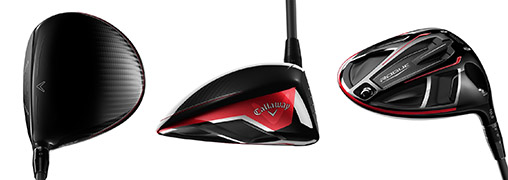 The customizable Callaway Rogue Driver in red