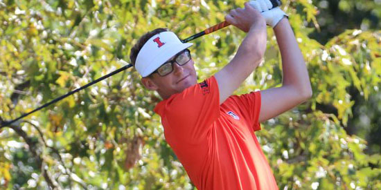 Dylan Meyer makes cut in second PGA Tour event <br>(University of Illinois photo)