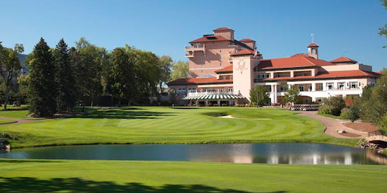 The Broadmoor will host the 2018 U.S. Senior Open <br>(USGA Photo)