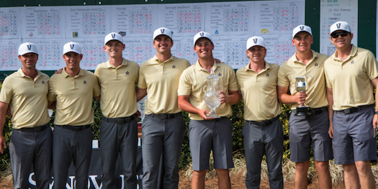 Vanderbilt has won three of their last four events <br>(Vanderbilt Athletics Photo)