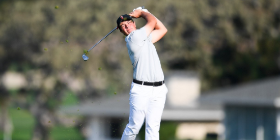 Viktor Hovland and Oklahoma State are once again closing in on a title <br>(Oklahoma State Athletics Photo)