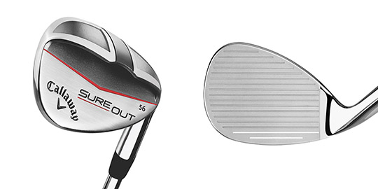 Callaway Announces New Sure Out Wedge Lofts