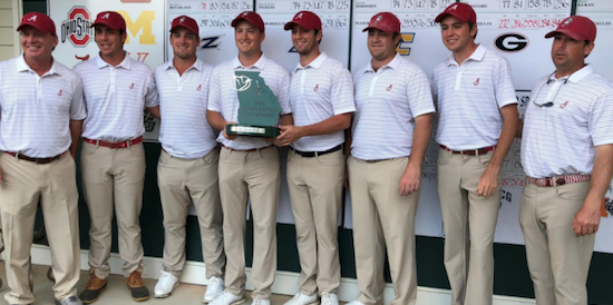 Alabama winners for the fourth time this season <br>(Alabama Athletics Photo)