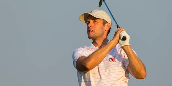 Zach Atkinson is looking to go wire-to-wire on Sunday <br>(USGA Photo)