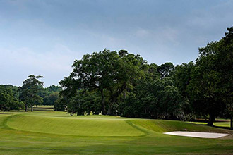 The 11th hole at the CC of Charleston