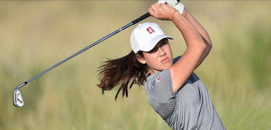 Stanford sophomore Albane Valenzuela <br>(Stanford Athletics Photo)