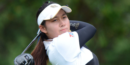 Low medalist Atthaya Thitikul <br>(Ladies European Tour Photo)