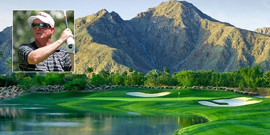 Peter DeTemple led the whole way at Indian Wells Golf Resort
