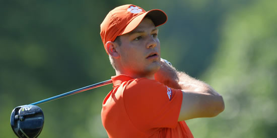 Clemson sophomore Doc Redman has a weekend tee time at the RBC Heritage <br>(Clemson Athletics Photo)