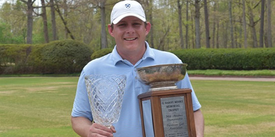 John Pitt had to wait 17 years for his 2nd CGA title (CGA photo)