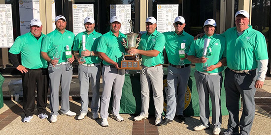 The victorious Fennwood Hills Country Club team (LGA photo)