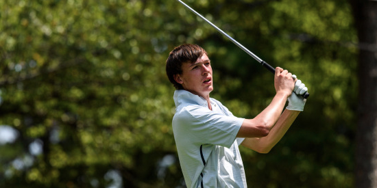 Co-leader Luke Schniederjans of Georgia Tech <br>(Georgia Tech Athletics Photo)