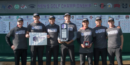 Four-peat for UNLV at the MWC Championship's <br>(UNLV Athletics Photo)