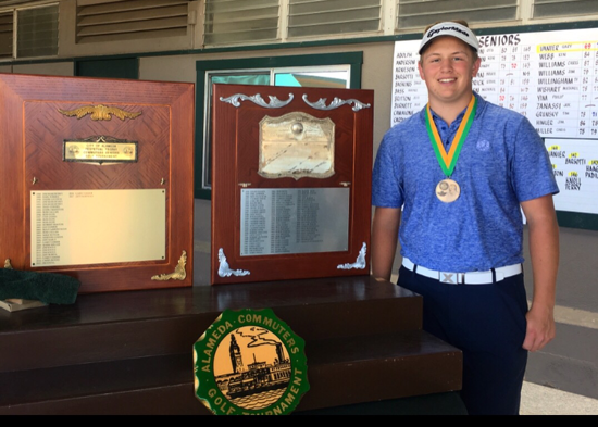 Ryan Grauman won his first amateur major<BR>The Alameda Commuters
