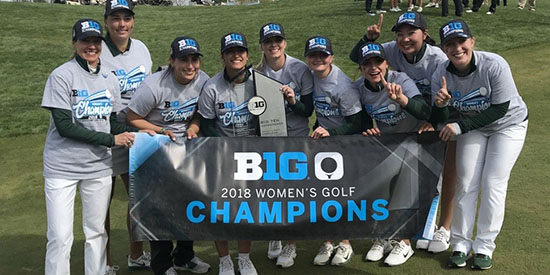 The sign says it all (Big Ten photo)
