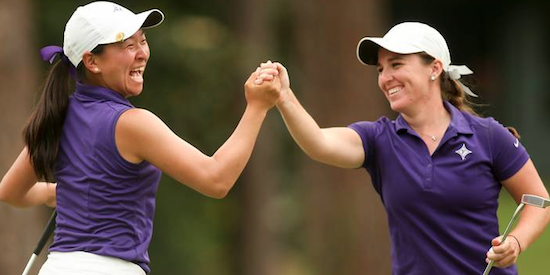 2017 champions Alice Chen and Taylor Totland were teammates at Furman <br>(USGA Photo)