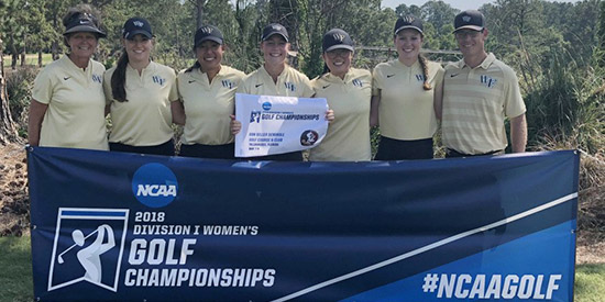 Wake Forest worked overtime to advance to the NCAAs (WFU photo)