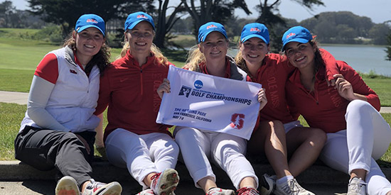 The Ole Miss Women's golf team broke through at TPC Harding Park (Ole Miss photo)