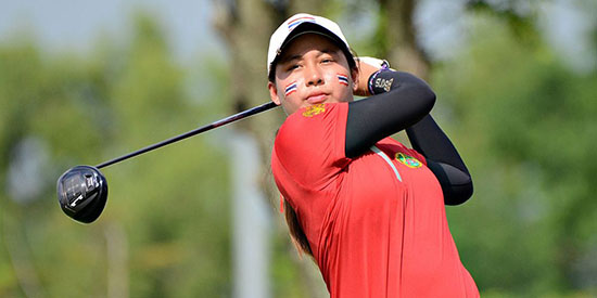 Atthaya Thitikul might be the next big thing in women's golf (The Nation photo)