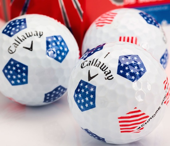 Celebrate the USA with Chrome Soft Truvis Stars & Stripes