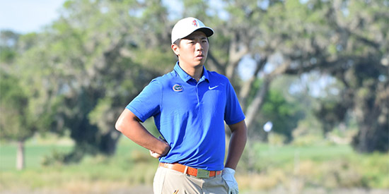 Florida's Andy Zhang (UF photo)