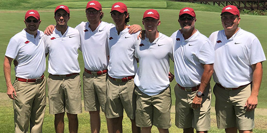 Arkansas men's golf (Arkansas Athletics photo)