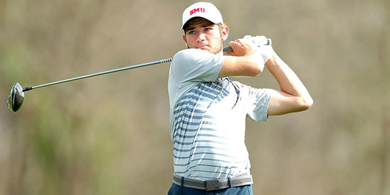 Goodwin opened with a 71 at Trinity Forest (SMU photo)