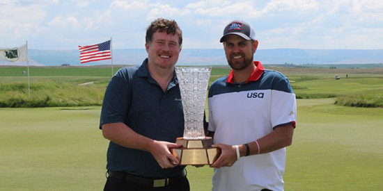 Austin Beatty (L) and Luke Bakke (WSGA photo)