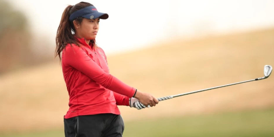 Bianca Pagdanganan aced the 148 yard par-3 11th hole <br>(Golfweek Photo)