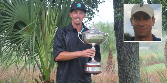 Marc Dull got the trophy, while Jeff Golden got a police report (FSGA photo)