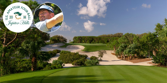 Jeff Fortson is journaling his week at Jupiter Hills (USGA photo)