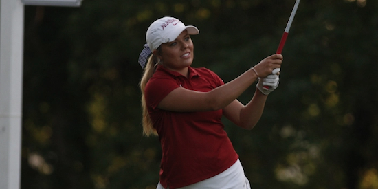 Lauren Stephenson won both of her matches on Tuesday <br>(Golfweek Photo)