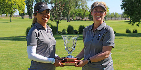 Victoria Fallgren and Leslie Folsom (WSGA photo)