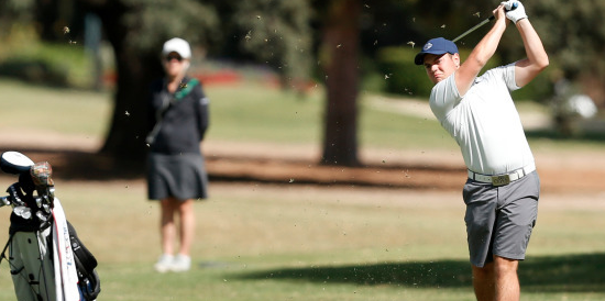 David Ganz carded rounds of 71-71-72 at the Washington Open this week <br>(Gonzaga Athletics Photo)
