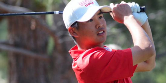 Shintaro Ban is one of five players currently tied for the lead <br>(Golfweek Photo)
