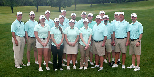 The victorious MGA amateur team (MGA photo)