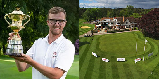 Nick Poppleton got it done at Frilford Heath (photo credit: Leaderboard Photography)