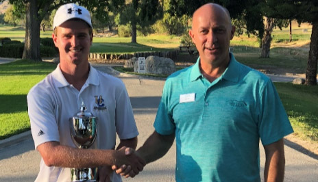 Andrew Spilman (L) with Simi Hills GM Brian Reed (Simi Hills photo)