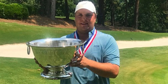 Matt Lorenz, the 2018 Alabama State Amateur champion (AGA photo)