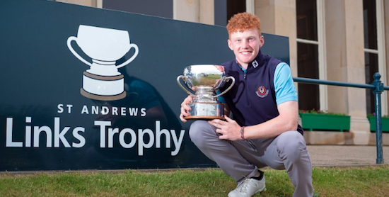 St. Andrews Links Trophy champion John Murphy <br>(St. Andrews Links Photo)