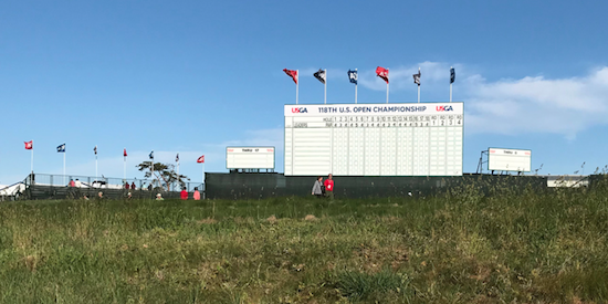 The scoreboard is still a story left untold <br>(AmateurGolf.com Photo)