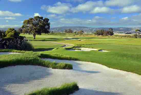 Hole Nos. 5 and 6 at Alameda's Corica Park South Course <br>© photo by Robert Kaufman