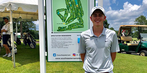 Southeastern Am: Liston Holds 1 Shot Lead as Course Toughens