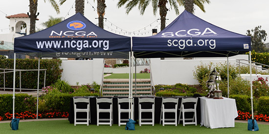 16 players remain at La Costa Resort (NCGA photo)