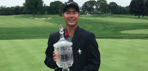 Rising USC senior Justin Suh was a wire-to-wire winner this week <br>(Northeast Amateur Photo)