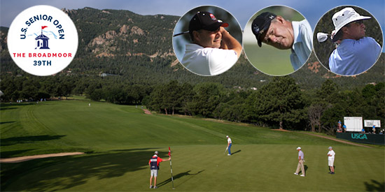 Three will battle for low amateur honors at The Broadmoor (USGA photo)