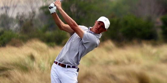 Jake Hendrix made a huge comeback at Lions GC (SFA Athletics photo)