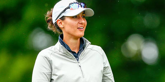 Shannon Johnson is one of the country's top female mid-ams (USGA photo)