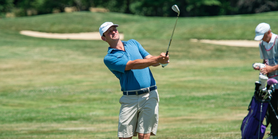 Matt Parziale on Wednesday at the Massachusetts Amateur <br>(MGA Photo)