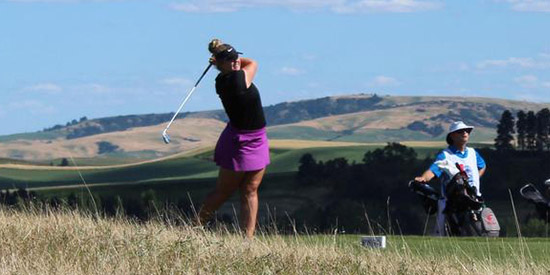 Thursday's quarterfinal matches are set at Palouse Ridge (PNGA photo)